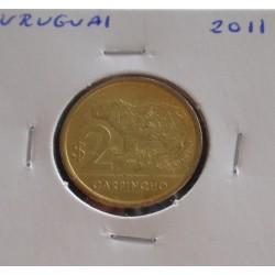 Uruguai - 2 Pesos - 2011