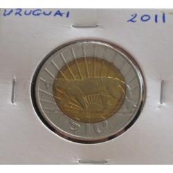 Uruguai - 10 Pesos - 2011