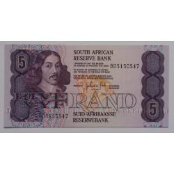 África do Sul - 5 Rand -...