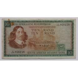 África do Sul - 10 Rand -...