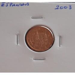 Espanha - 1 Centimo - 2003
