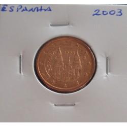 Espanha - 5 Centimos - 2003