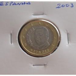 Espanha - 1 Euro - 2003