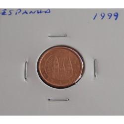 Espanha - 1 Centimo - 1999