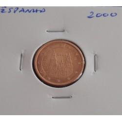 Espanha - 2 Centimos - 2000