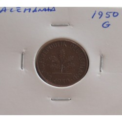Alemanha - 2 Pfennig - 1950 G