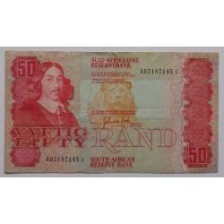 África do Sul - 50 Rand - 1984