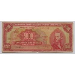 Brasil - 5000 Cruzeiros - 1964