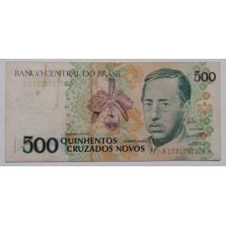 Brasil - 500 Cruzados Novos...