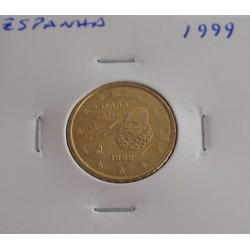 Espanha - 10 Centimos - 1999