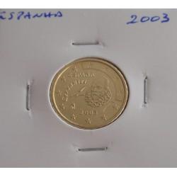 Espanha - 10 Centimos - 2003