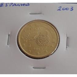 Espanha - 50 Centimos - 2001