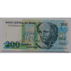 Brasil - 200 Cruzados Novos...