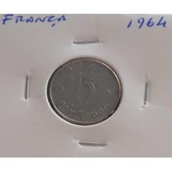 França - 5 Centimes - 1964