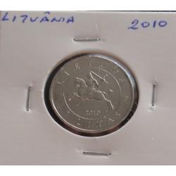 Lituânia - 1 Litas - 2010