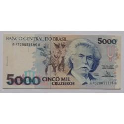 Brasil - 5000 Cruzeiros - 1992