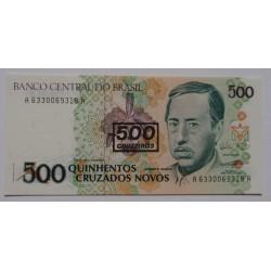 Brasil - 500 Cruzeiros, S/...