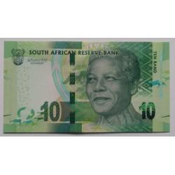 África do Sul - 10 Rand - 2018