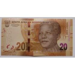 África do Sul - 20 Rand - 2018