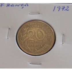 França - 20 Centimes - 1972