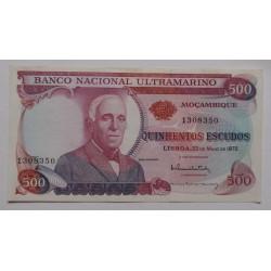 Moçambique - 500 Escudos -...