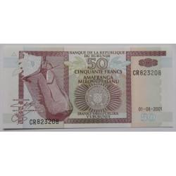 Burundi - 50 Francs -...
