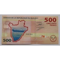 Burundi - 500 Francs -...