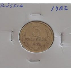 Rússia - 3 Kopeks - 1982