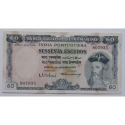 India - 60 Escudos -...