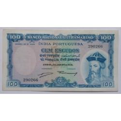India - 100 Escudos -...