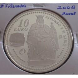 Espanha - 10 Euro - 2008 -...