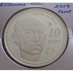 Espanha - 10 Euro - 2014 -...