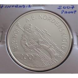 Finlândia - 10 Euro - 2007...