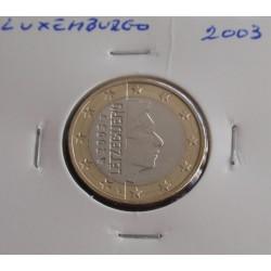 Luxemburgo - 1 Euro - 2003