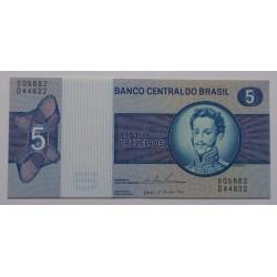 Brasil - 5 Cruzeiros - 1973