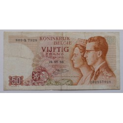 Bélgica - 50 Francs -...