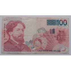 Bélgica - 100 Francs -...