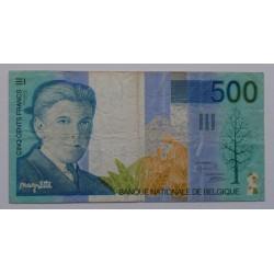 Bélgica - 500 Francs - 1998