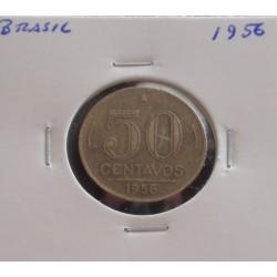 Brasil - 50 Centavos - 1956