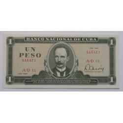 Cuba - 1 Peso - 1985 - Nova