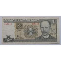 Cuba - 1 Peso - 2003