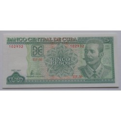 Cuba - 5 Pesos - 2003 - Nova