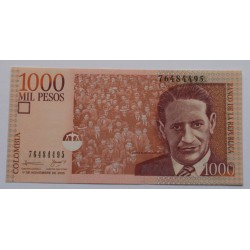 Colômbia - 1000 Pesos -...