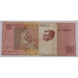 Angola - 10 Kwanzas - 10/2012