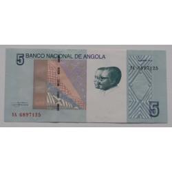 Angola - 5 Kwanzas - 10/2012