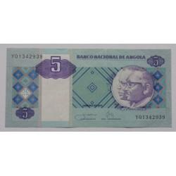 Angola - 5 Kwanzas - 01/2011