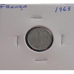 França - 1 Centime - 1963
