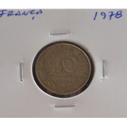 França - 10 Centimes - 1978