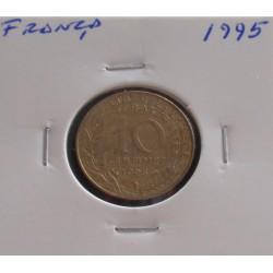 França - 10 Centimes - 1995