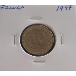 França - 10 Centimes - 1997